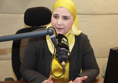 نيفين القباج مساعد أول وزيرة التضامن الاجتماعي
