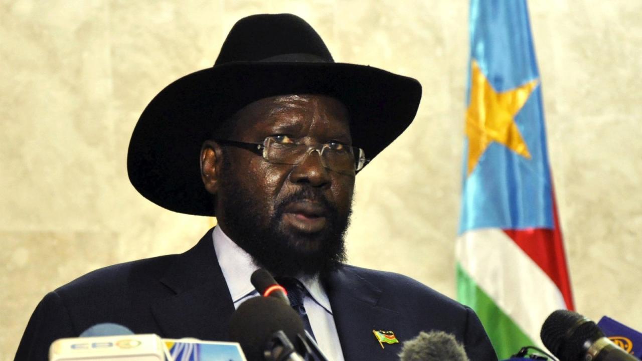 سلفاكير ميارديت رئيس دولة جنوب السودان