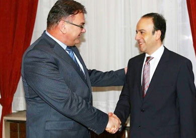 لقاء السفير المصرى فى البوسنة والهرسك مع الرئيس البوسني