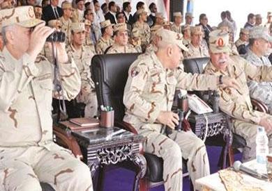 الجيش ينفذ أكبر مناورة بالذخيرة الحية على الحدود الغربية?
