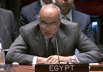 السفير عمرو أبو العطا مندوب مصر لدى الأمم المتحدة