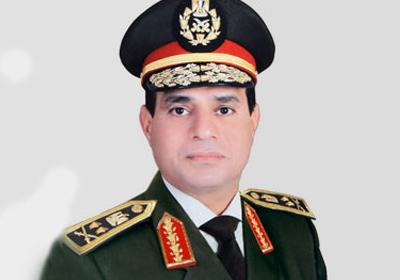 الفريق اول  عبد الفتاح السيسى - القائد العام للقوات المسلحه