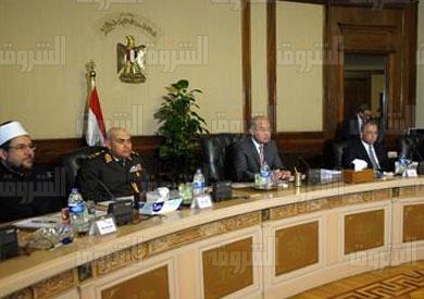 مجلس الوزراء، برئاسة شريف إسماعيل - تصوير: سليمان العطيفي