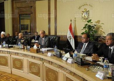الوزراء برئاسة شريف اسماعيل - تصوير: سليمان العطيفي