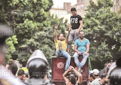 الجمعية العمومية لنقابة الصحفيين-تصوير-ابراهيم عزت