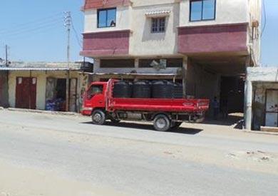 شاحنات بيع المياه فى الشيخ زويد