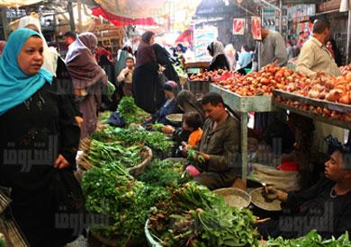 السلغ الغذائية تستحوذ على نصف إنفاق المصريين - تصوير جيهان نصر