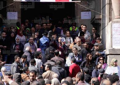 نقابة الأطباء تصوير: هبة الخولي