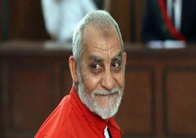 مرشد جماعة الإخوان محمد بديع