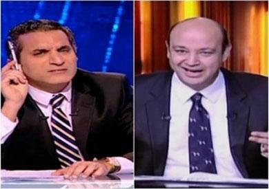 عمرو أديب وباسم يوسف -ارشيفية