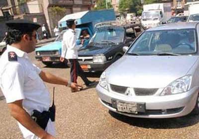 حبس ضابط بمرور السويس 15 يوما لاتهامه بالرشوة - أرشيفية