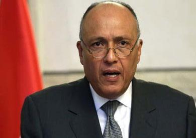 سامح شكري وزير الخارجية المصرى