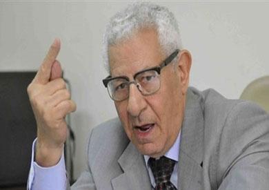 مكرم محمد أحمد، الكاتب الصحفي ونقيب الصحفيين السابق