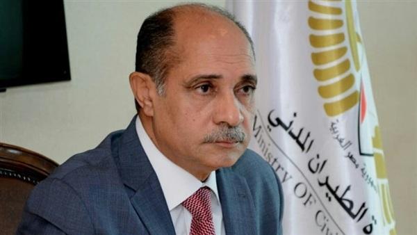 يونس المصري وزير الطيران المدني