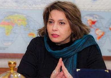 الإعلامية صفاء حجازي رئيس اتحاد الإذاعة والتليفزيون