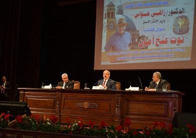 زاهي حواس: الإعلام المصري مقصر 100% في حق الآثار الفرعونية -          بوابة الشروق