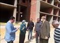 نائبة محافظ القاهرة تتابع تطوير ورفع كفاءة محور زهراء المعادي