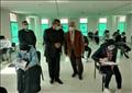 رئيس جامعة العريش يواصل متابعة لجان الامتحانات