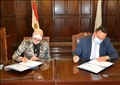 برتوكول تعاون بين جامعة الإسكندرية ومعهد بحوث الإلكترونيات