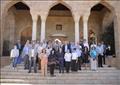 سفراء الاتحاد الأوروبي يزورون مسجد الطنبغا المارداني ومنطقة باب الوزير
