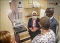 وزيرة الصحة تشهد افتتاح المركز الطبي المصريAFRI Egypt للرعاية الصحية بدولة أوغندا