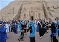 احتفالية تعامد الشمس بمعبد ابو سمبل - أرشيفية