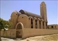 كنيسة العائلة المقدسة بعد تخريبها