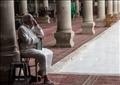 مسجد عمرو بن العاص تصوير ابراهيم عزت