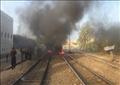 انفجار قنبلة على شريط السكة الحديد - أرشيفية