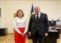 سفير مصر لدى أوكرانيا يلتقي وزيرة التعليم والعلوم