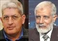 محمود عزت ومحمد عبدالرحمن المرسى
