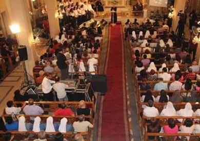 خطة تأمين استثنائية للكنائس والأديرة فى احتفالات «الكريسماس»