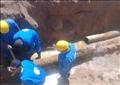إصلاح ماسورة مياه