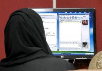 عريس من الإنترنت أسهل Saudi-girls-and-the-Internet