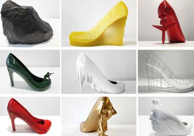 412fa4181 بالصور: أغرب 10 أحذية نسائية في عام 2013 - بوابة الشروق - نسخة الموبايل