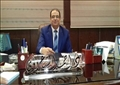 الدكتور أحمد شعراوى عميد معهد الكبد القومى بشبين الكوم