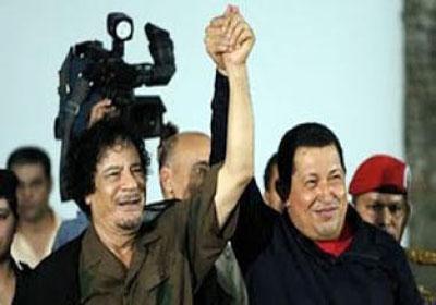 .سجل حضورك ... بصورة تعز عليك ... للبطل الشهيد القائد معمر القذافي - صفحة 21 Chavez_and-_al_Gadafi