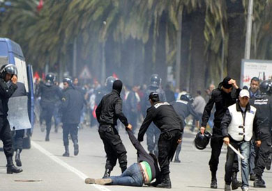 أرشيفية للاحتجاجات والشغب في تونس