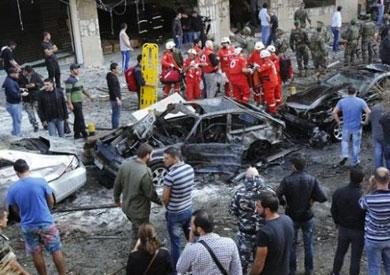 تفجير السفارة الايرانية في بيروت - أرشيفية