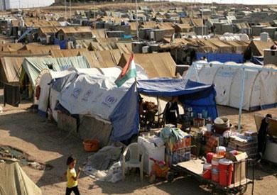 مخيمات للاجئين سوريين بالأردن - ارشيفية