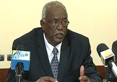 وزير التجارة السوداني عثمان عمر الشريف