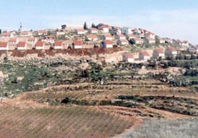 مستوطنة اسرائيلية - ارشيفية