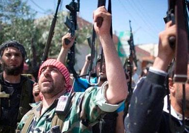 عناصر من مسلحي المعارضة السورية