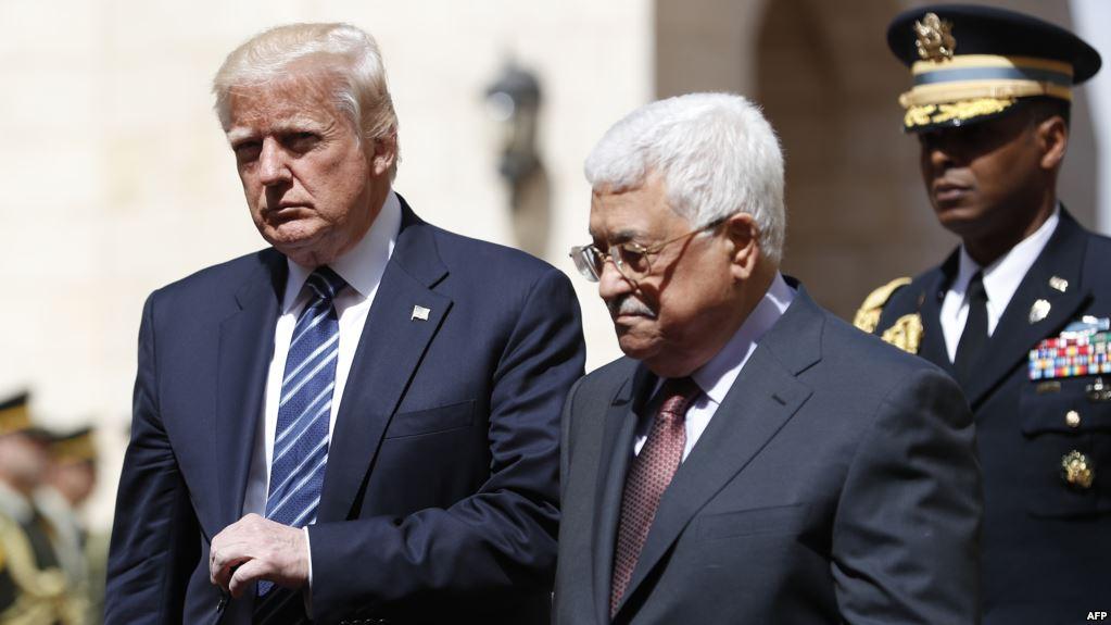 «عباس» يستقبل «ترامب» في بيت لحم