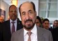 أدلى الشيخ القاسمي بتصريحاته في معرض لندن الدولي للكتاب