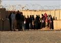 مجموعة من اللاجئين السوريين صورة أرشيفية