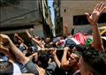آلاف الفلسطينيين يشاركون في تشيع جثمان الشهيد خالد الجوابرة بالضفة الغربية  - ارشيفية