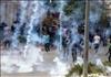 اشتباكات بين فلسطينييون والجيش الاسرائيلي