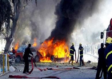 المرصد يعلن مقتل 4 على الأقل جراء انفجار حافلة تابعة لقوات الحكومة السورية غربي دمشق