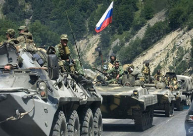 قوات روسية على الحدود الأوكرانية
